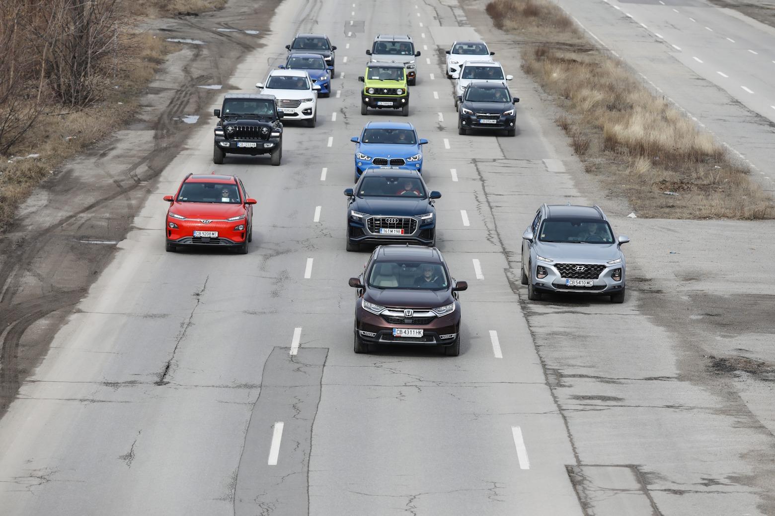 Honda CR-V във финалните тестове на Автомобил на годината 2019