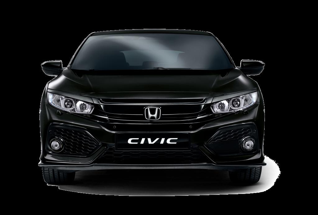 Honda Civic Hatchback Crystal Black Pearl