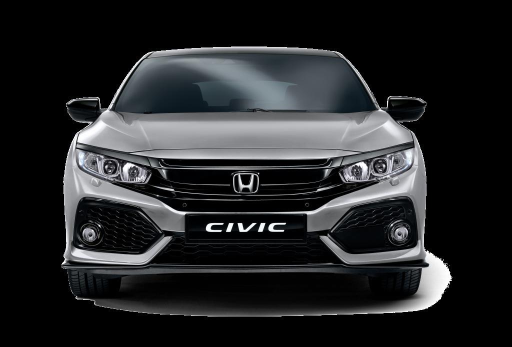 Honda Civic Hatchback Lunar Silver