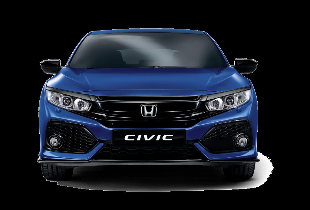 Honda Civic Hatchback Brilliant Sporty Blue