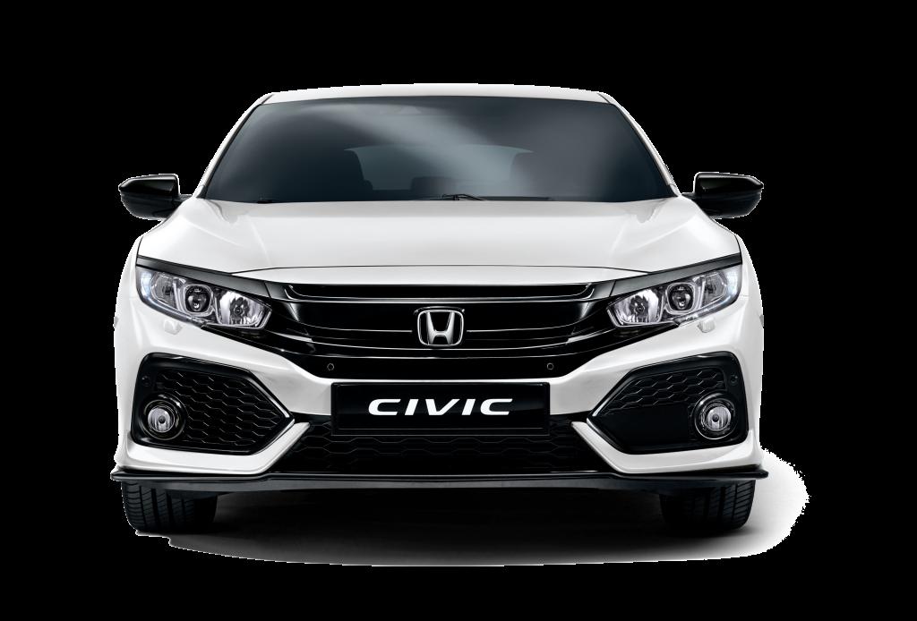 Honda Civic Hatchback White Orchid Pearl