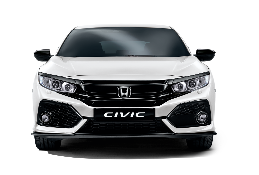 Honda Civic Hatchback White