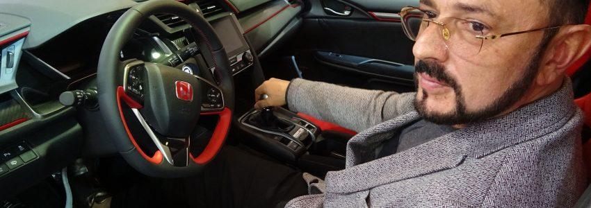 Д-р Николай Георгиев в Honda Civic Type R