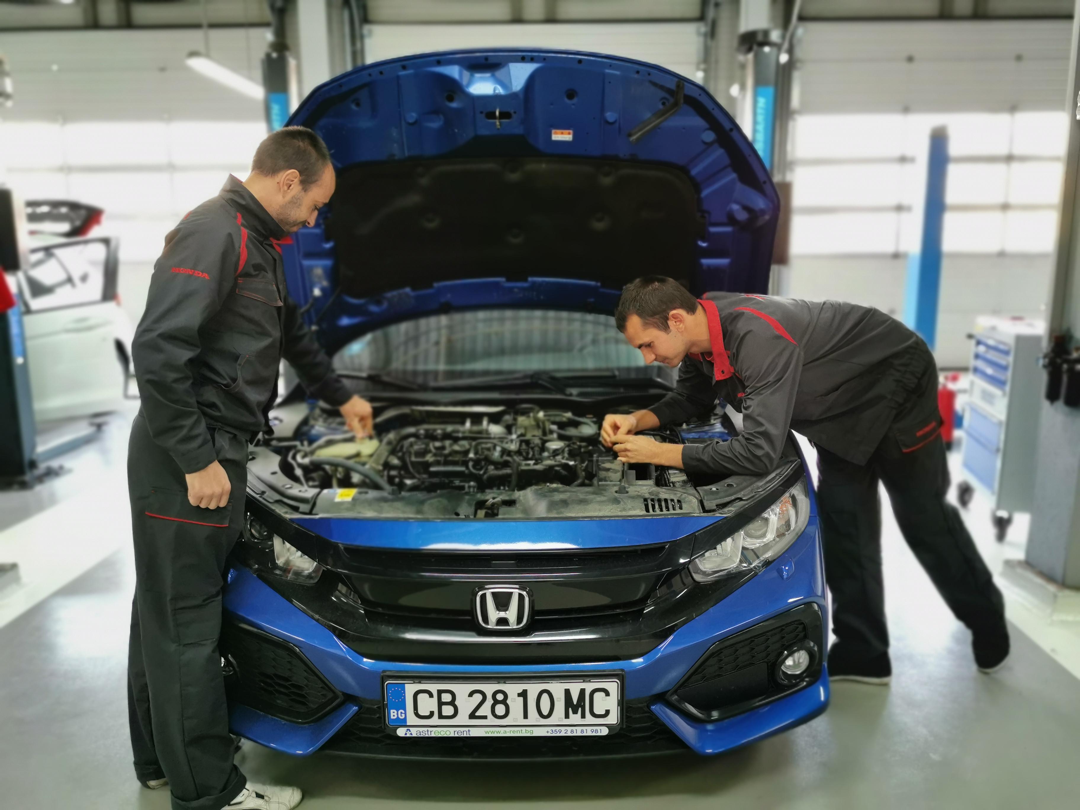 Honda сертифицира най-добрите ни механици