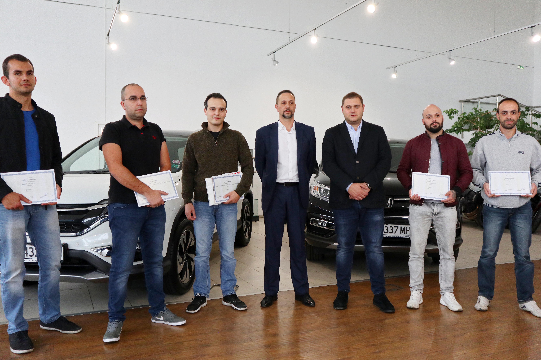 Най-добрите механици на Honda в България